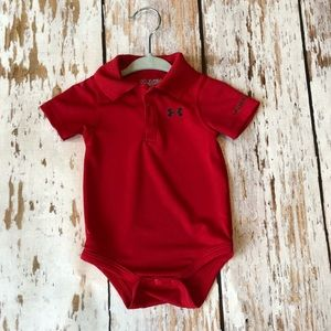 Under Armour boys size 3-6 month onesie